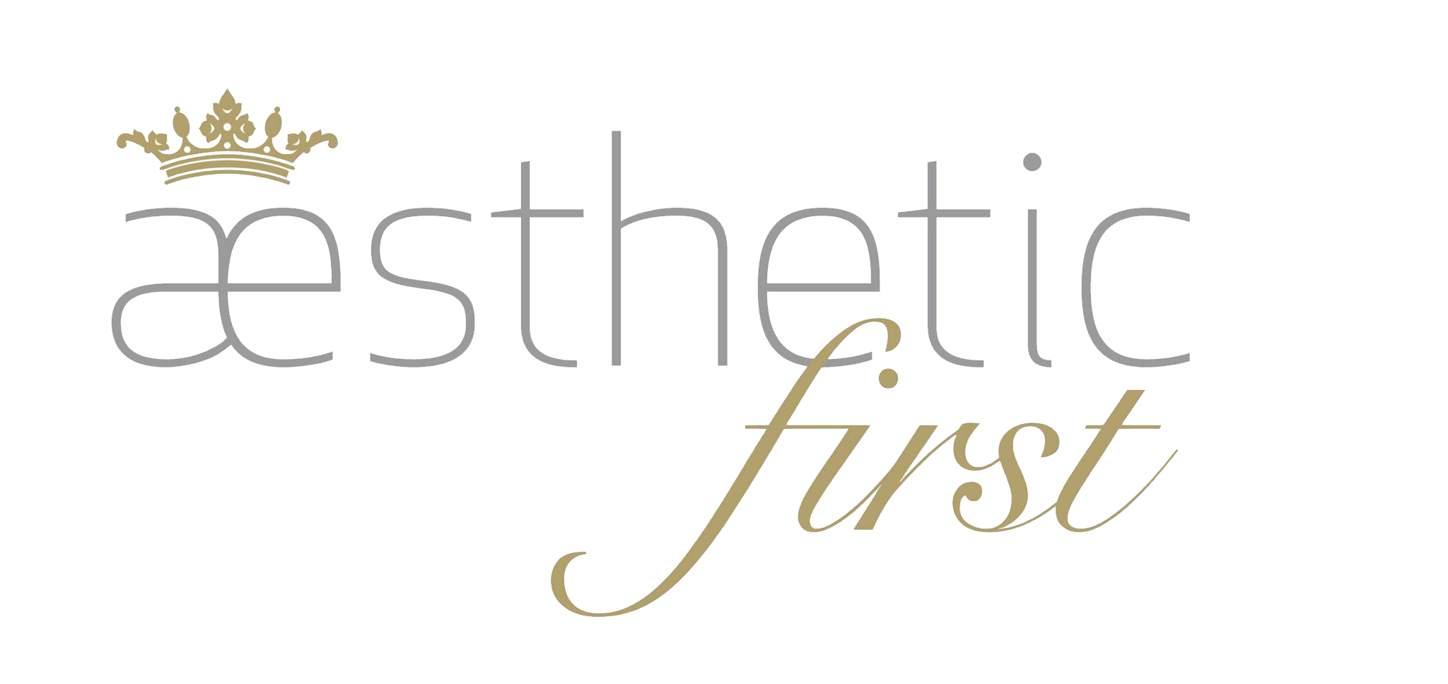 Aesthetic First Logo